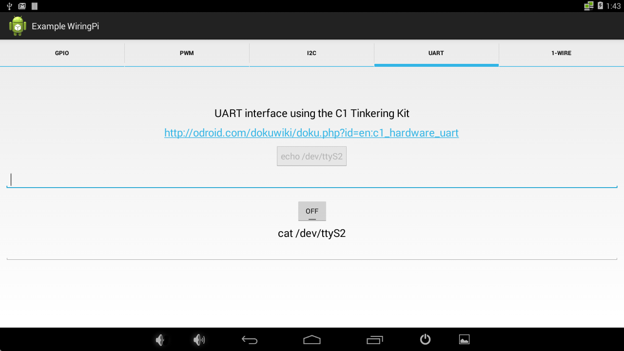 Wiringpi Read Uart Great Installation Of Wiring Diagram Pull Up Down Android For The Embedded System